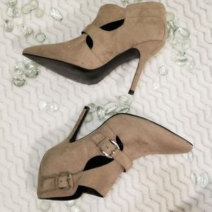 EUC Guess Suede Ankle Booties